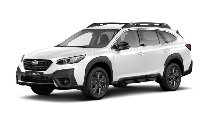 Subaru Outback 2.5i Exclusive Cross frontansicht